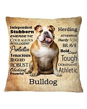 Bulldog Virtues 2206 Square Pillowcase front