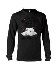 Samoyed Mom Life 1707 Long Sleeve Tee thumbnail