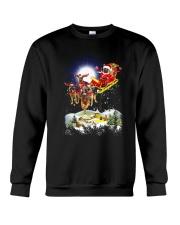 German Shepherds and Santa Crewneck Sweatshirt front