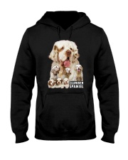 Clumber Spaniel Awesome Family 0701 Hooded Sweatshirt thumbnail