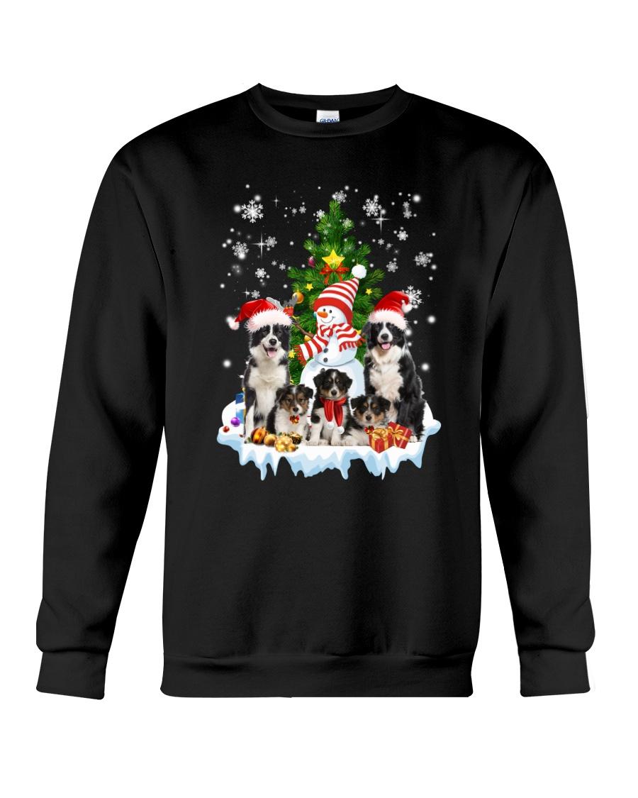 Border Collie Family 2109 Crewneck Sweatshirt