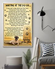 Mastiff Waiting at The Door 11x17 Poster lifestyle-poster-1