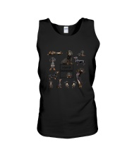 A Day Of Dachshund  Unisex Tank thumbnail