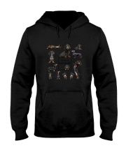 A Day Of Dachshund  Hooded Sweatshirt thumbnail