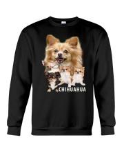 Chihuahua Awesome Family 0501 Crewneck Sweatshirt thumbnail