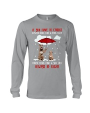 Be Kind American Pit Bull Terrier Long Sleeve Tee thumbnail