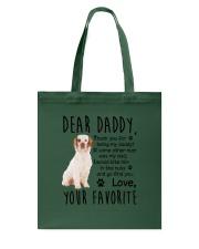 Clumber Spaniel Dear Daddy Mug 2301 Tote Bag thumbnail