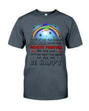 Run Play And Be Happy  Classic T-Shirt thumbnail