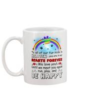 Run Play And Be Happy  Mug back