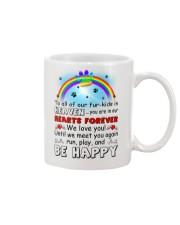 Run Play And Be Happy  Mug front