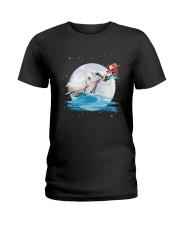 Samoyed Santa - 1011 Ladies T-Shirt thumbnail