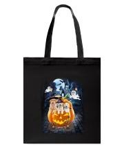 Golden Retriever in pumpkin carriage 0208 Tote Bag thumbnail
