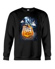 Golden Retriever in pumpkin carriage 0208 Crewneck Sweatshirt thumbnail