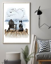Border Collie Waiting 11x17 Poster lifestyle-poster-1