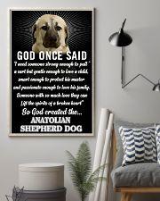 Anatolian Shepherd Dog God Once Said Poster 2901  11x17 Poster lifestyle-poster-1