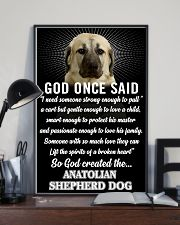 Anatolian Shepherd Dog God Once Said Poster 2901  11x17 Poster lifestyle-poster-2
