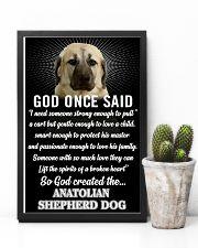 Anatolian Shepherd Dog God Once Said Poster 2901  11x17 Poster lifestyle-poster-8