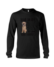 Border Terrier Daddy Favorite 2105 Long Sleeve Tee thumbnail