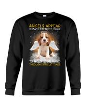Beagle Angel Crewneck Sweatshirt front