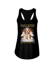 Beagle Angel Ladies Flowy Tank thumbnail