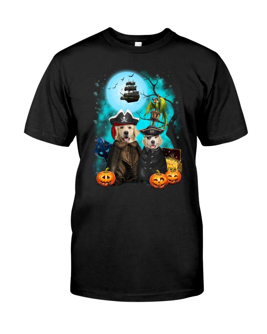 Golden Retriever Pirate 2308 Classic T-Shirt