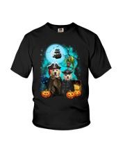 Golden Retriever Pirate 2308 Youth T-Shirt thumbnail