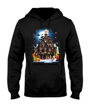 Rottweiler Pine 190918 Hooded Sweatshirt front