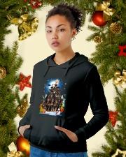 Rottweiler Pine 190918 Hooded Sweatshirt lifestyle-holiday-hoodie-front-4