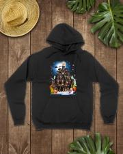 Rottweiler Pine 190918 Hooded Sweatshirt lifestyle-unisex-hoodie-front-7
