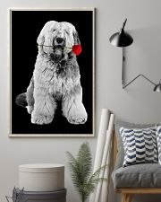 Old English Sheepdog Rose Poster 3001  11x17 Poster lifestyle-poster-1