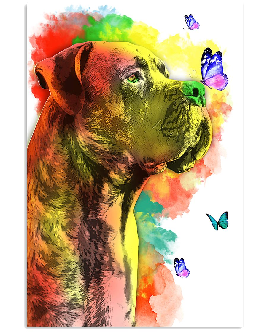 Cane-Corso Colorful Poster 0102  11x17 Poster