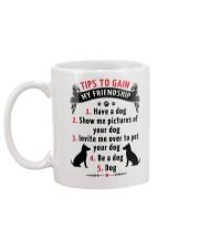 Have a dog Mug back