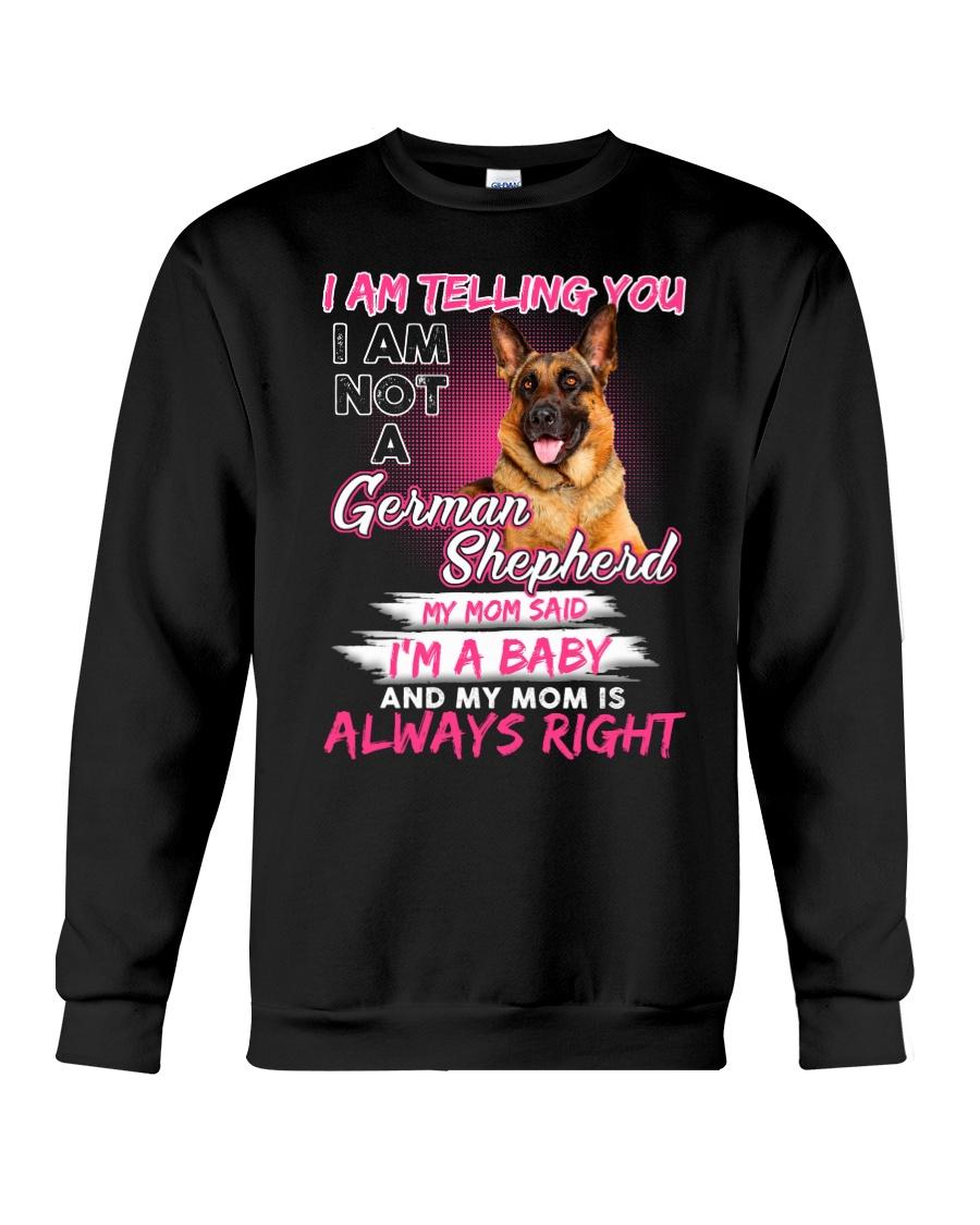 German Shepherd Baby  Crewneck Sweatshirt