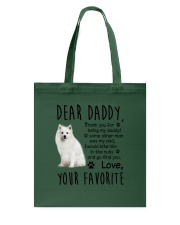 Japanese Spitz Dear Daddy Mug 1801  Tote Bag thumbnail