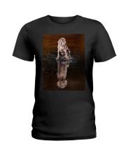 Weimaraner Reflection Mug 1312 Ladies T-Shirt thumbnail