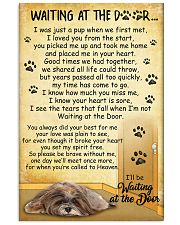 Lhasa Apso Waiting At The Door 2601 11x17 Poster front