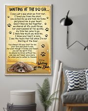 Lhasa Apso Waiting At The Door 2601 11x17 Poster lifestyle-poster-1