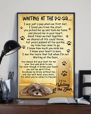 Lhasa Apso Waiting At The Door 2601 11x17 Poster lifestyle-poster-2