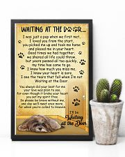 Lhasa Apso Waiting At The Door 2601 11x17 Poster lifestyle-poster-8