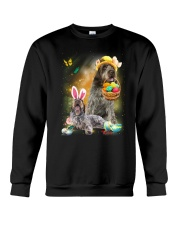 Wirehaired Pointing Griffon Happy Easter Day 2601  Crewneck Sweatshirt thumbnail