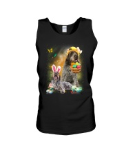 Wirehaired Pointing Griffon Happy Easter Day 2601  Unisex Tank thumbnail