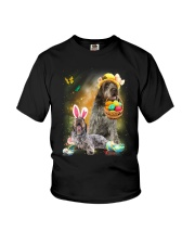 Wirehaired Pointing Griffon Happy Easter Day 2601  Youth T-Shirt thumbnail