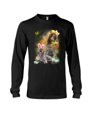 Wirehaired Pointing Griffon Happy Easter Day 2601  Long Sleeve Tee thumbnail