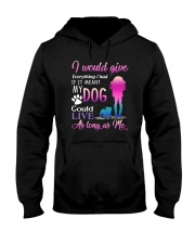 Dog As Long As Me 2109 Hooded Sweatshirt thumbnail