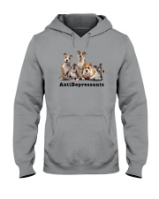 American Staffordshire Antidepressants 1712 Hooded Sweatshirt thumbnail