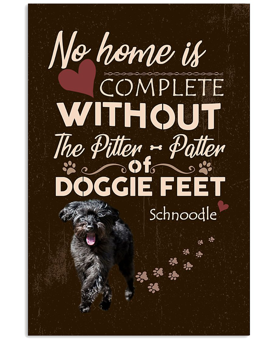 Schnoodle Feet 11x17 Poster