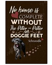 Schnoodle Feet 11x17 Poster front