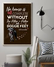 Schnoodle Feet 11x17 Poster lifestyle-poster-1