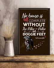 Schnoodle Feet 11x17 Poster lifestyle-poster-3
