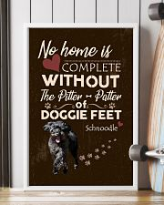 Schnoodle Feet 11x17 Poster lifestyle-poster-4